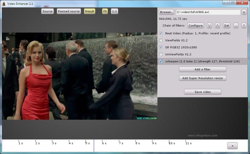 Video Enhancer user's guide