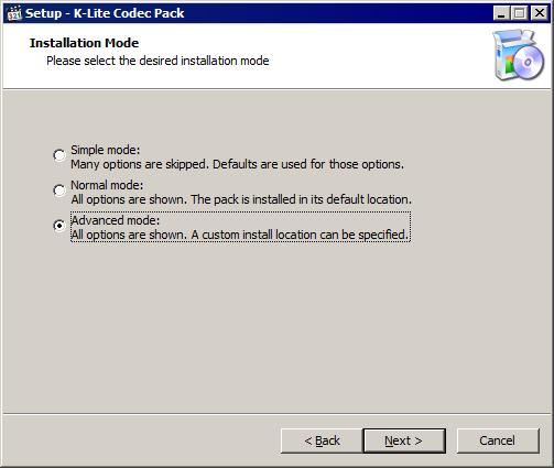Набор кодеков K-Lite Codec Pack — установка и настройка